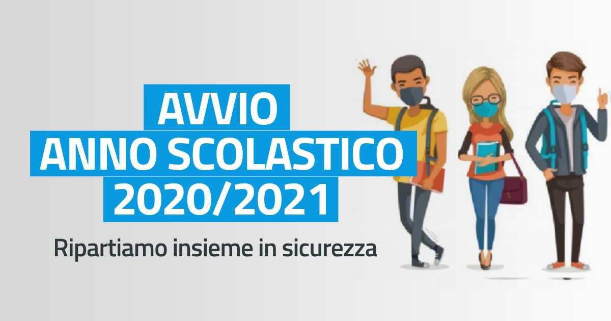 Avvio anno scolastico 2020/21